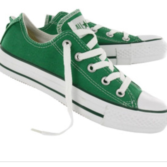 00bfa15a1a5 Converse Shoes - Converse All Star Kelly Green Sneakers